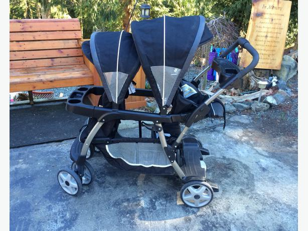 graco ready to grow double stroller instructions