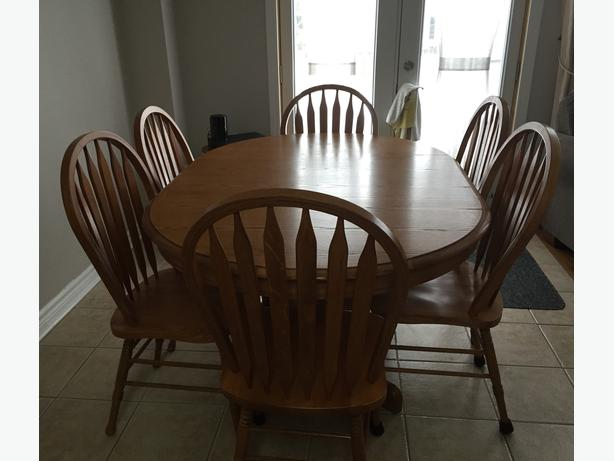 Dining Table Chairs Oakridge Collection Sears Nepean Ottawa