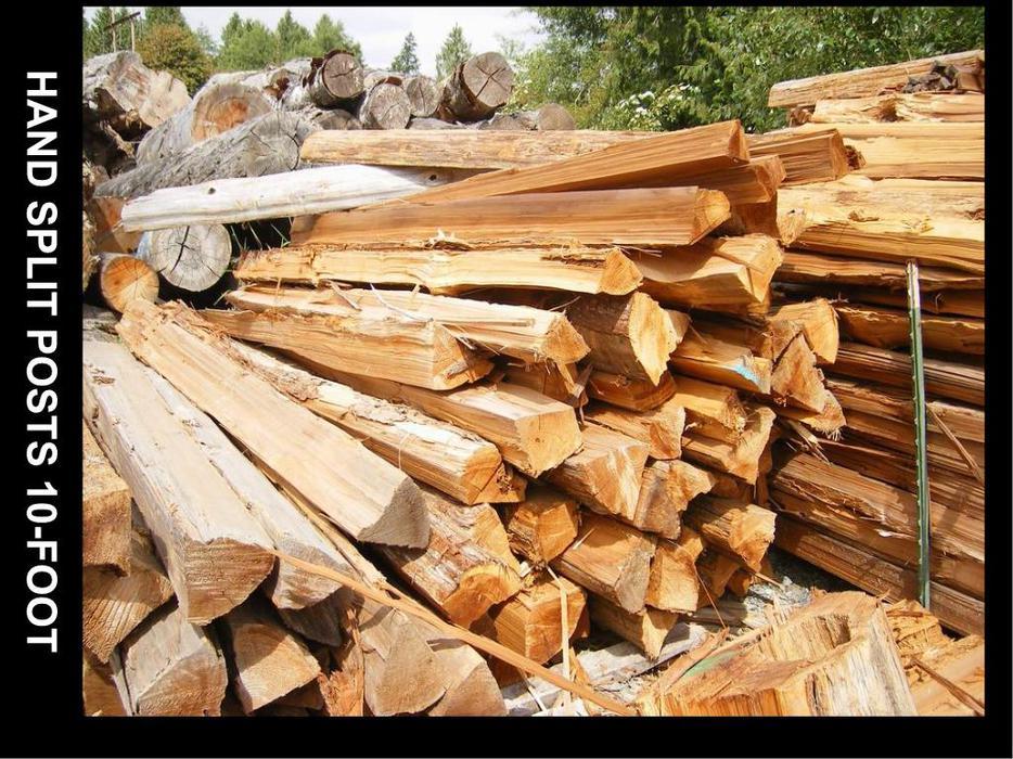 Firewood Split Rail Fencing For Sale Campbell River