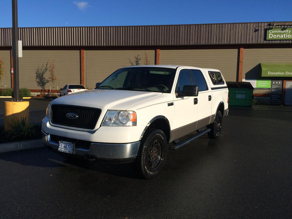 2005 f150 4x4 xlt 4 door comox comox valley mobile. Black Bedroom Furniture Sets. Home Design Ideas