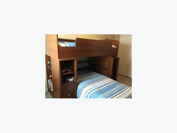 Palliser Bunk Bed With Desk Palliser Bunk Bed With Side