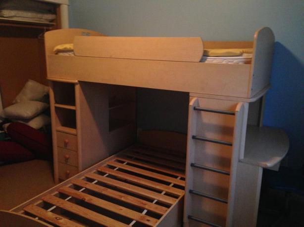Palliser Bunk Bed With Side Desk And Bookcase West Carleton Ottawa