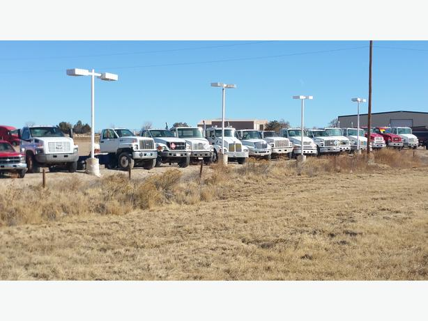 50 CAB AND CHASSIS TRUCKS / PTO  FOR SALE-- free airline ticket