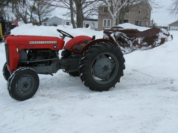 For Trade 1964 Mf 25 Tractor Live Power Diesel Queens