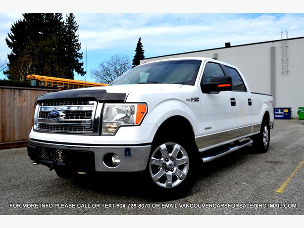 2013 ford f150 supercrew 4wd xtr f 150 4x4 white surrey incl white rock vancouver. Black Bedroom Furniture Sets. Home Design Ideas