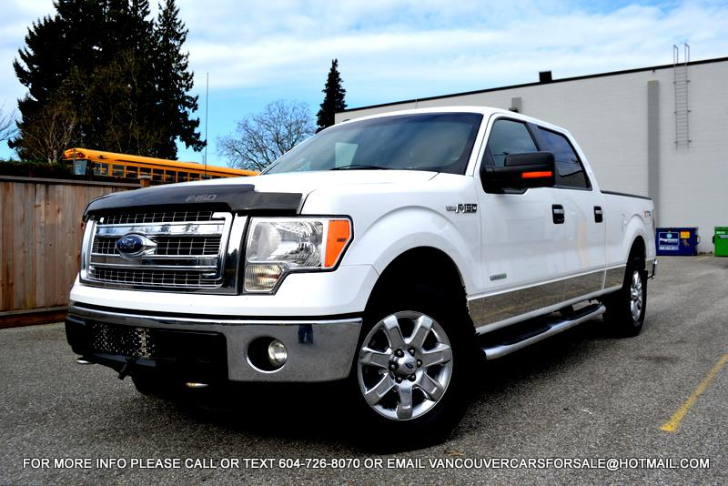 2013 ford f150 supercrew 4wd xtr f 150 4x4 white surrey incl white rock surrey mobile. Black Bedroom Furniture Sets. Home Design Ideas