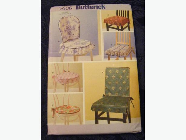 Butterick Pattern for Chair Pads
