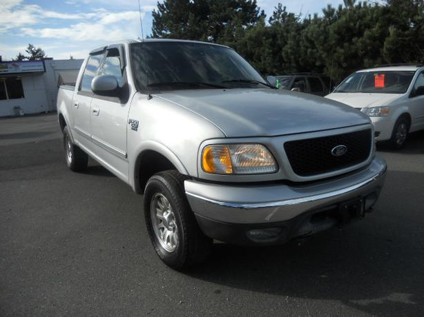 2003 ford f 150 4x4 crew cab outside nanaimo parksville qualicum beach. Black Bedroom Furniture Sets. Home Design Ideas