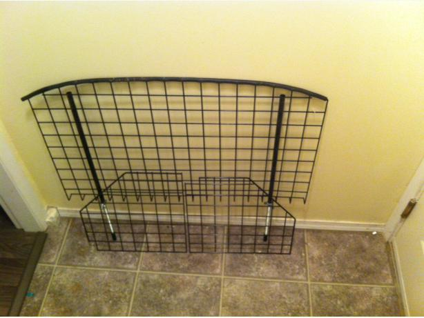 Universal wire mesh car barrier dog gate other cowichan