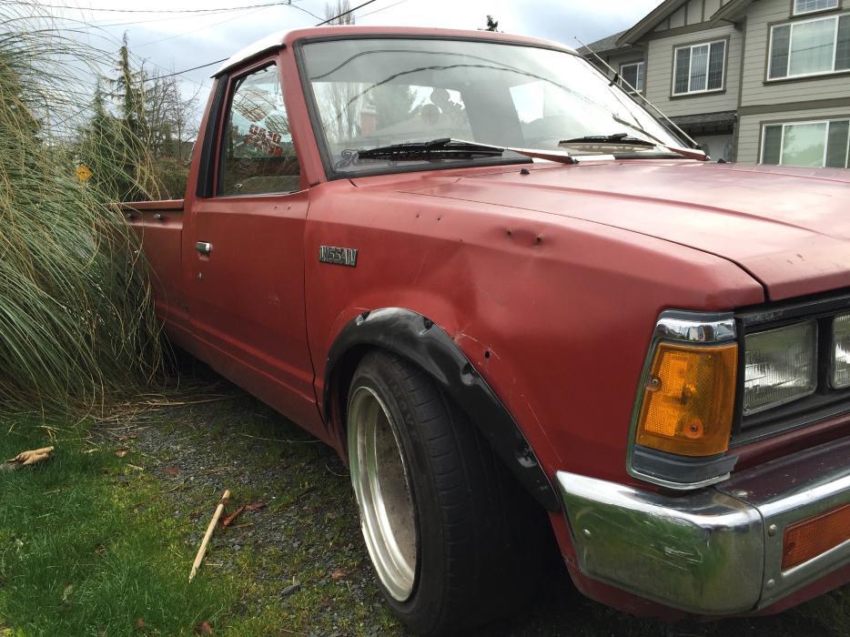 1984 Nissan 720 Datsun Mini Truck Lowrider Victoria City