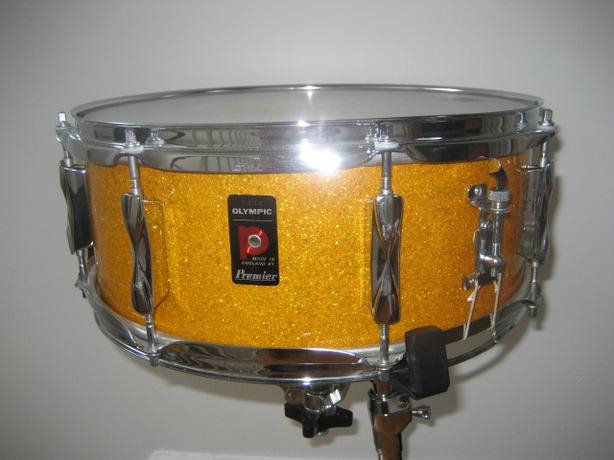 Vintage Premier Snare Drum 66