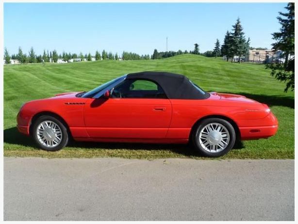 2002 ford thunderbird convertible for sale outside edmonton area edmonton. Black Bedroom Furniture Sets. Home Design Ideas