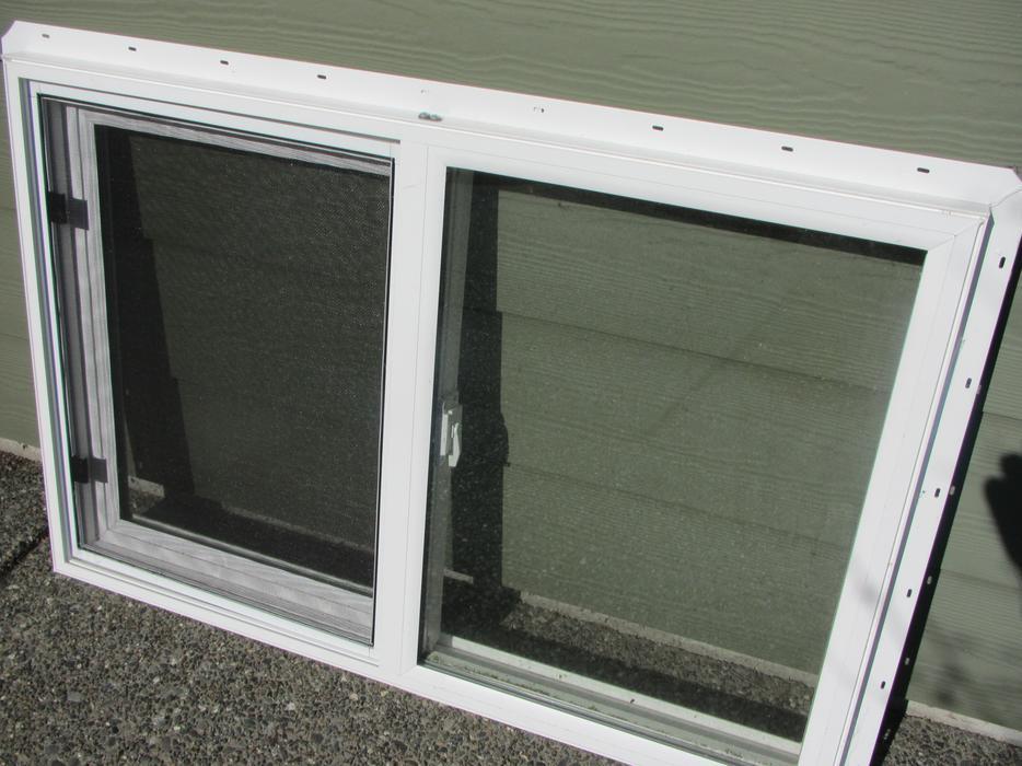 24 X 36 Vinyl Slider Window Campbell River Comox Valley
