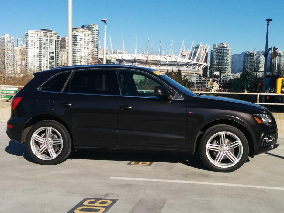 2011 Audi Q5 S Line Package Outside Victoria Victoria