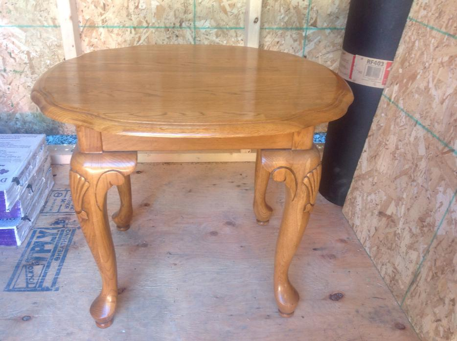 Solid Oak Coffee And End Tables Oak Bay Victoria