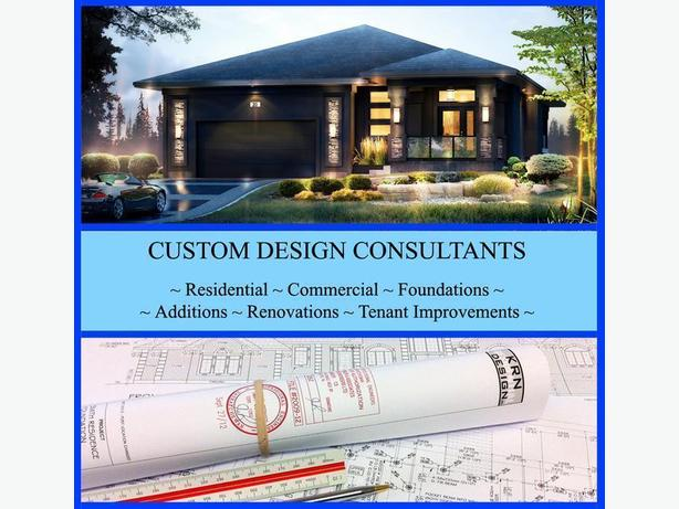 CUSTOM HOME DESIGN - ARCHITECTURAL DRAFTING SERVICES