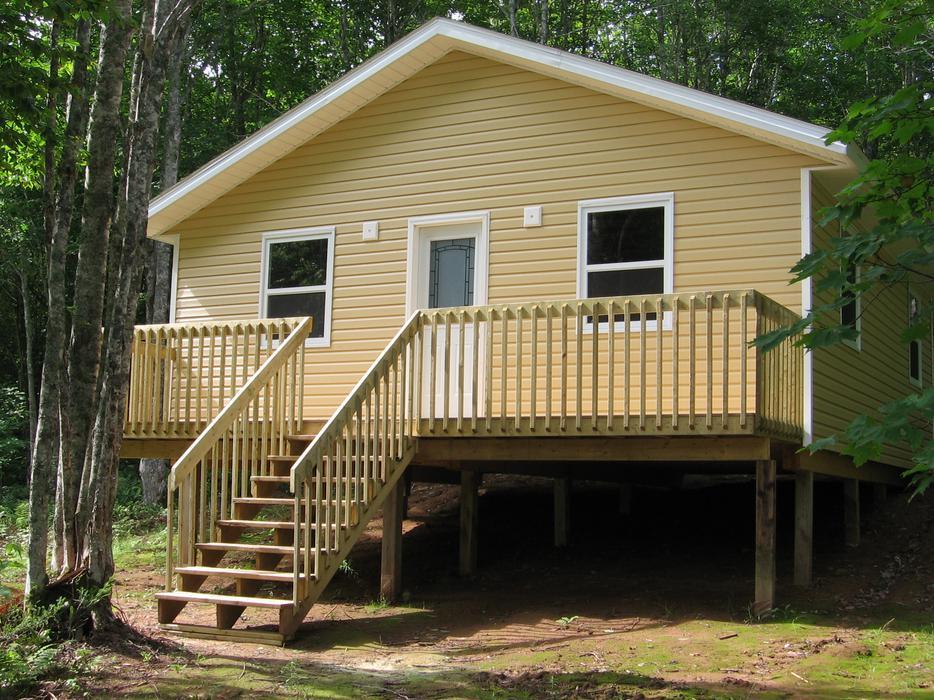 New Cottage Cabin 1 2 Acres Hardwood Lot Summerside Pei
