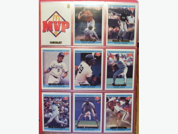 DONRUSS MCDONALD'S BASEBALL CARD SET 1992 (33 cards)