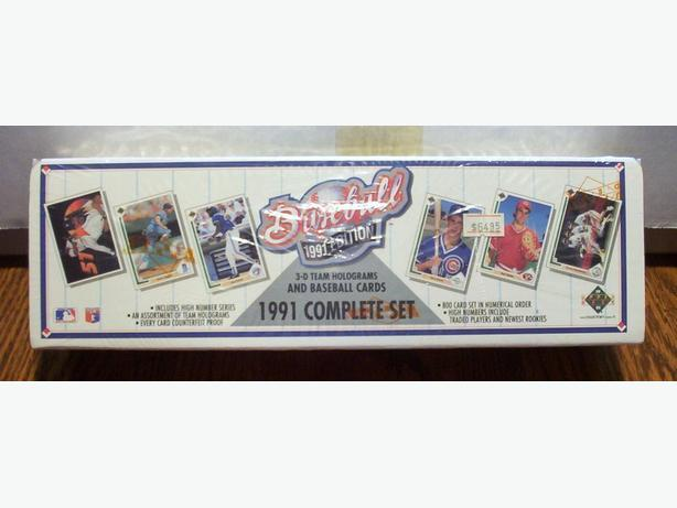 UPPER DECK 1991 BASEBALL CARD SET (800 cards)