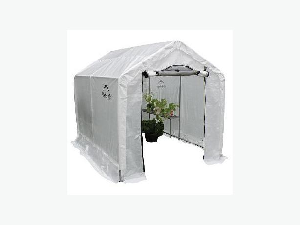 ShelterLogic - GrowIt® Backyard Greenhouse with Integrated Shelving
