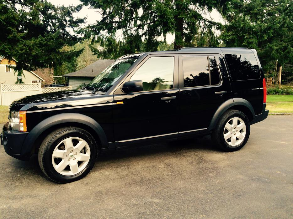 2008 Land Rover Lr3 Hse Luxury Edition Outside Nanaimo