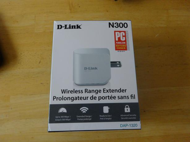 D-LINK WIRELESS EXTENDER