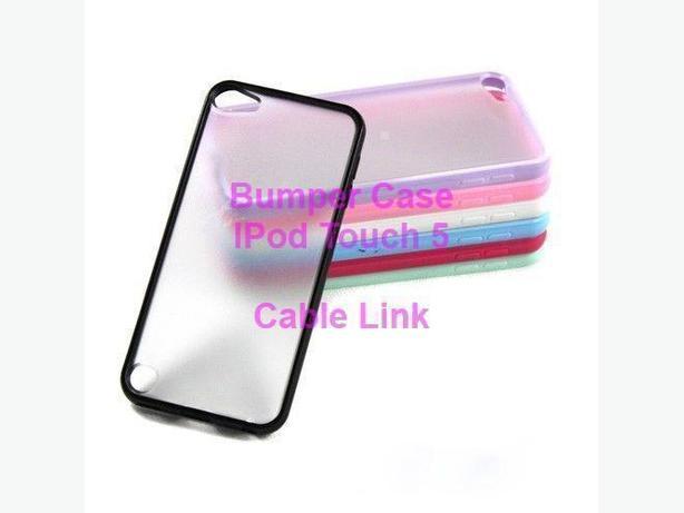 Hybrid Bumper Matte Case For Apple iPod Touch 5
