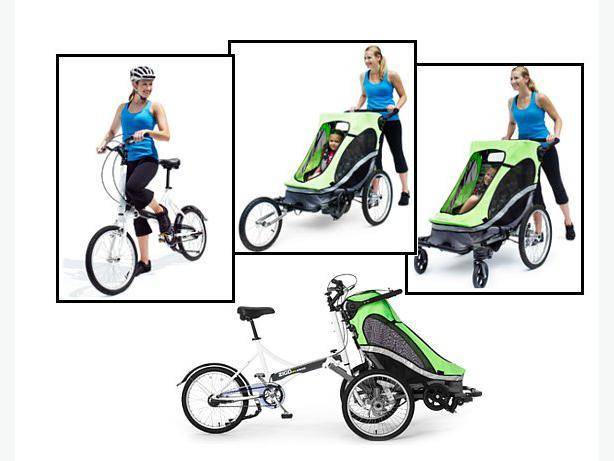 Zigo Double Stroller / Carrier Bicycle Oak Bay, Victoria
