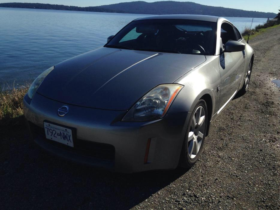Clean Nissan 350z Malahat Including Shawnigan Lake Amp Mill