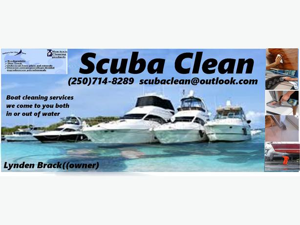Ship Cleaning Services : Boat cleaning services we come to you central nanaimo