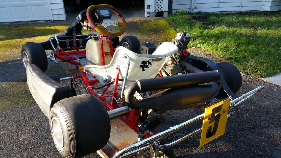 Western speedway ready to race senior 125cc rotax go kart for Go kart montreal exterieur