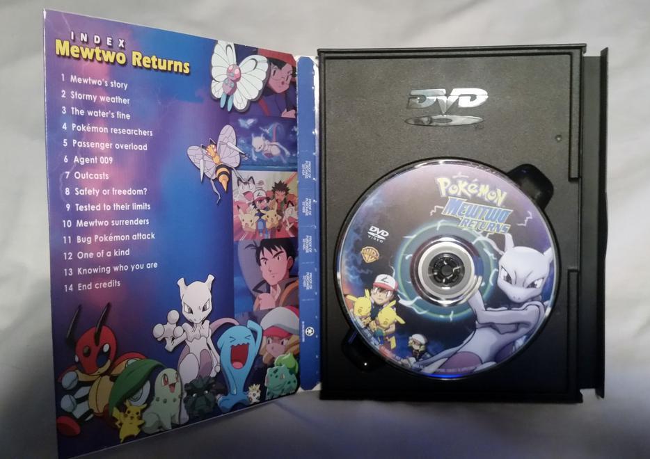 Pokemon ( Pokémon ) Mewtwo Returns RARE (DVD, 2001) North ... Pokemon Mewtwo Returns Dvd