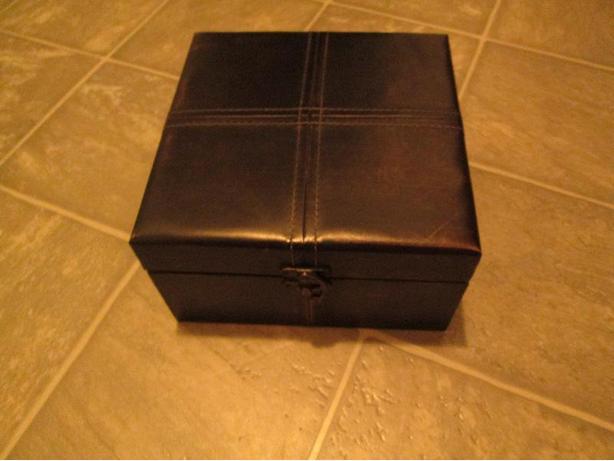 Dark Brown Storage Box