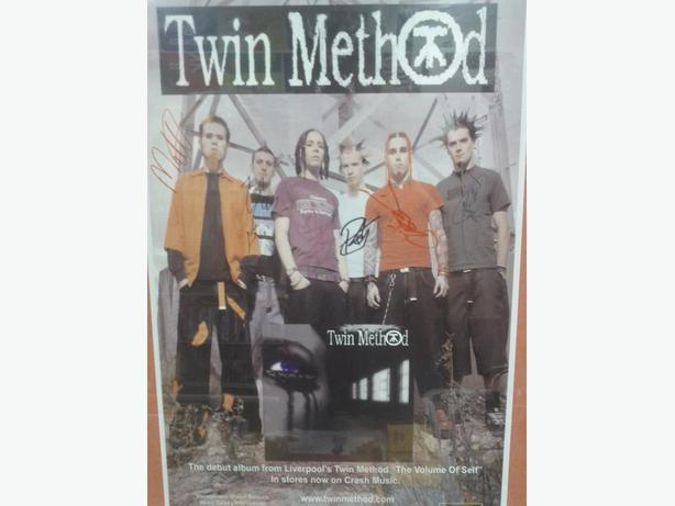 Twin Method Signed Poster