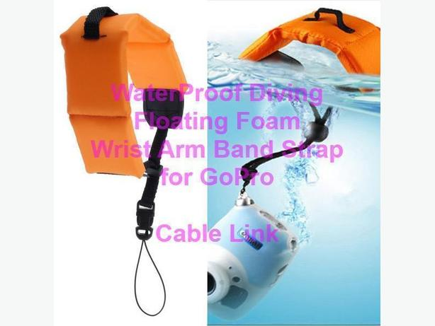 Waterproof Floating Foam Wrist Armband Strap for GoPro Camera