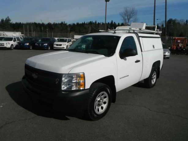 2011 chevrolet silverado regular cab 1500 with canopy and roofrack outside comox valley comox. Black Bedroom Furniture Sets. Home Design Ideas