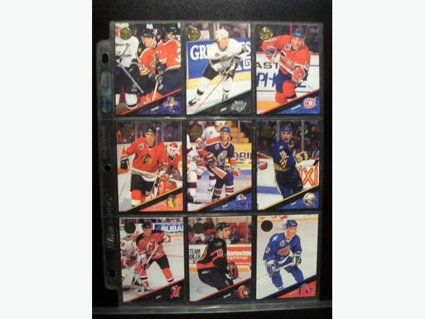 LEAF HOCKEY CARDS - SERIES 2 - 1993/1994 (Complete Set 220 cards)
