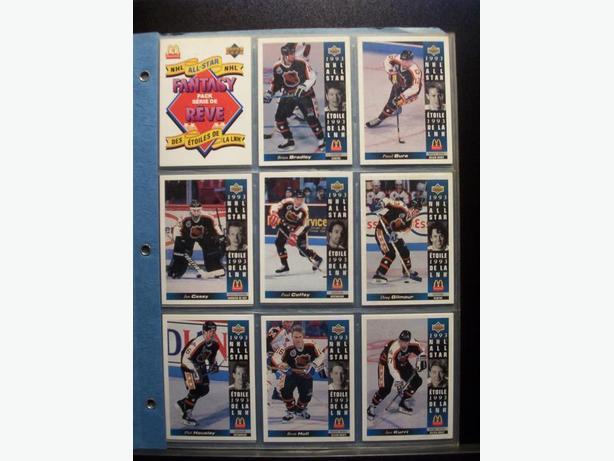 UPPER DECK MCDONALD'S HOCKEY CARDS - 1993/1994 (30 cards)