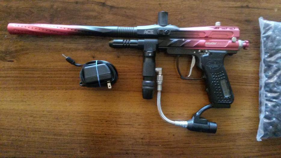 Fully Auto Spyder Pilot E-Marker Paintball Gun North Saanich ...