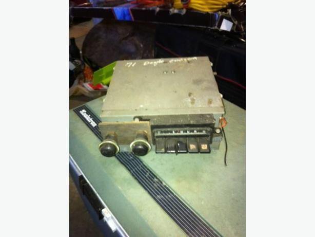 AM Stock Radio from a 1971 Dodge Charger $100.00 obo