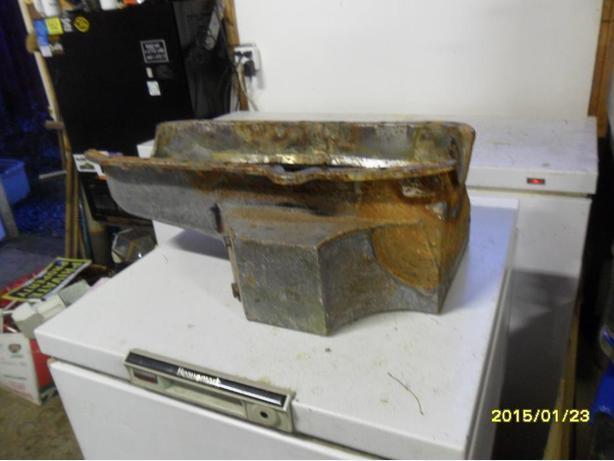 Large Volume Oil Pan