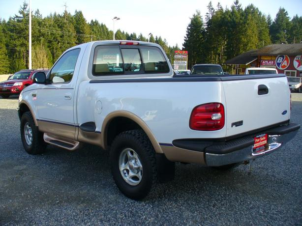 1997 ford f150 lariat 4x4 shortbox outside comox valley campbell river mobile. Black Bedroom Furniture Sets. Home Design Ideas
