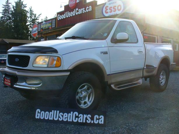 1997 ford f150 lariat 4x4 shortbox outside nanaimo parksville qualicum beach. Black Bedroom Furniture Sets. Home Design Ideas