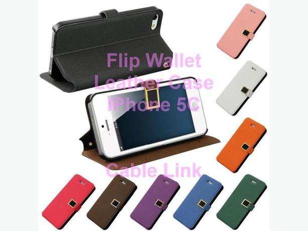 Flip Leather Wallet Magnetic Case for IPhone 5C