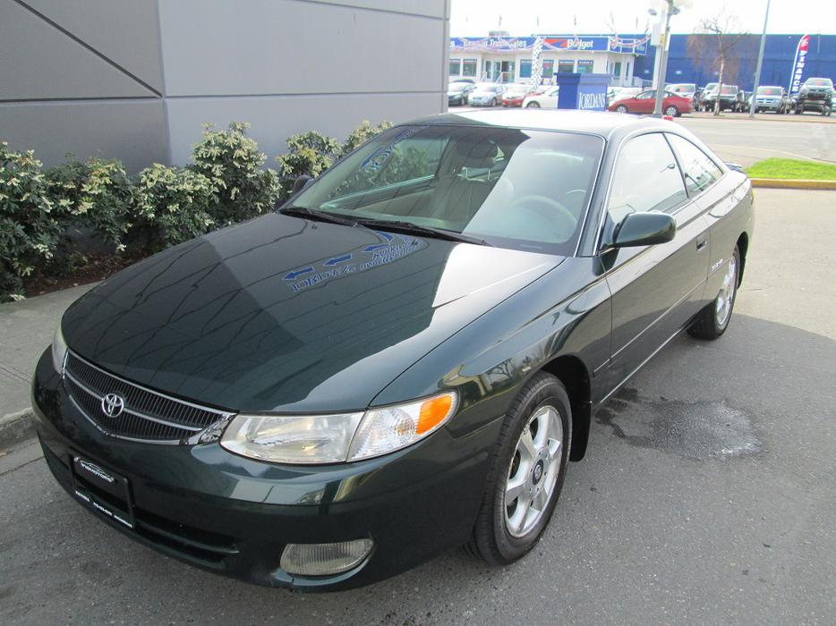 1999 toyota camry solara local vehicle no accidents for West valley motor vehicle