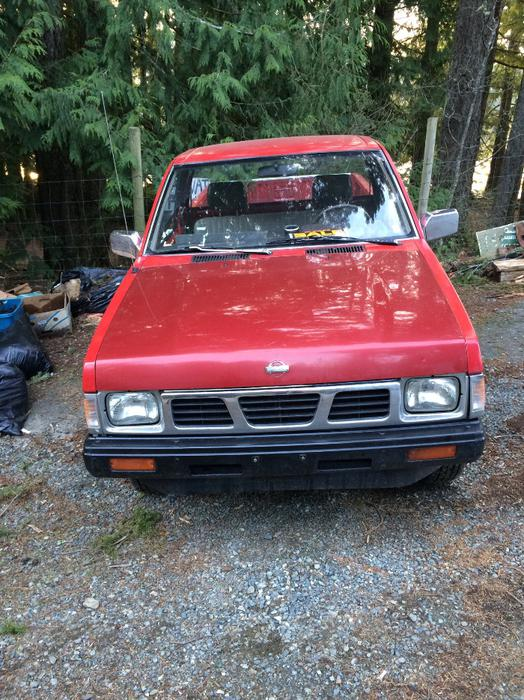 Campbell Nelson Nissan >> 1988 Nissan Hardbody Outside Nanaimo, Parksville Qualicum ...