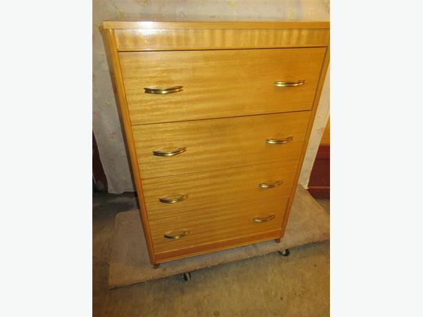All wood four drawer chest of drawers south west calgary