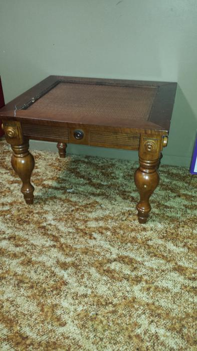 Two coffee tables malahat including shawnigan lake mill for Coffee tables london ontario