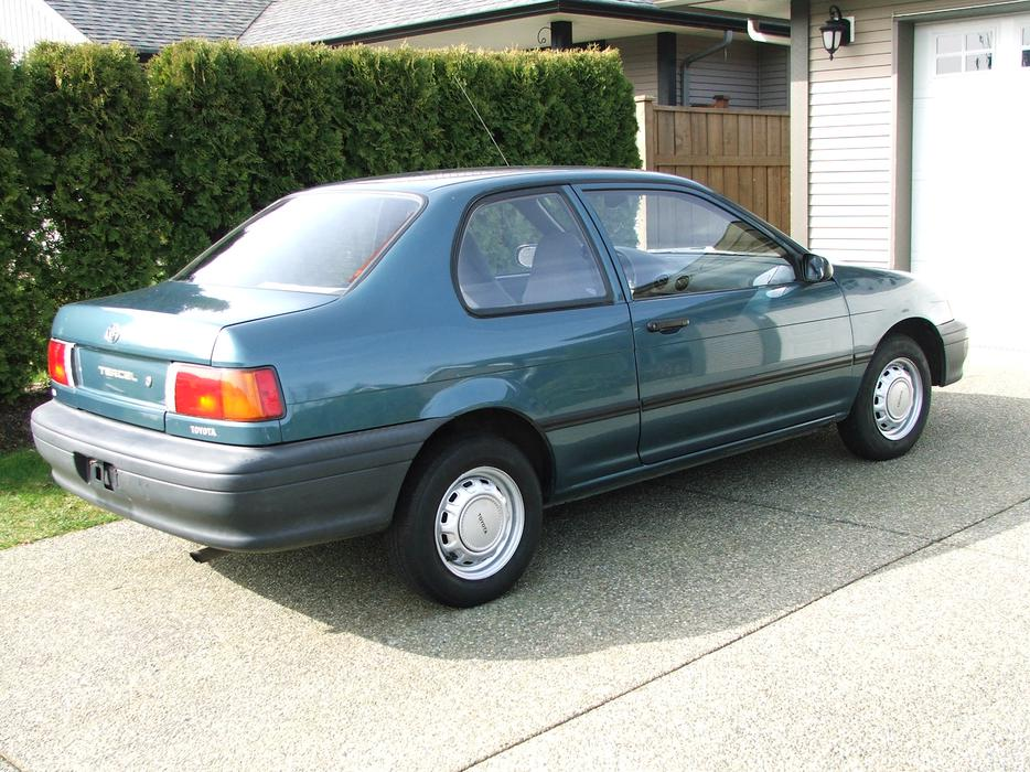 Service Manual How Does Cars Work 1993 Toyota Tercel Lane