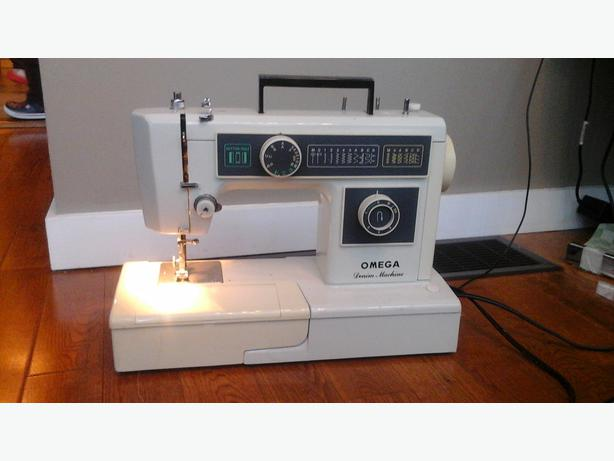 omega sewing machine